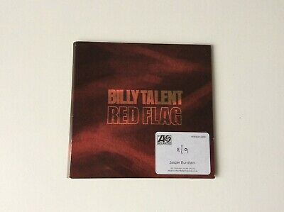 Billy Talent - Red Flag -  promo CD