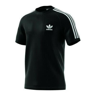 adidas Originals 3 Stripes Tee T-Shirt Schwarz