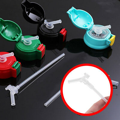 10 Water Bottle Replacement Drinking Straw Silicone for Thermos Vacuum Mug Cup