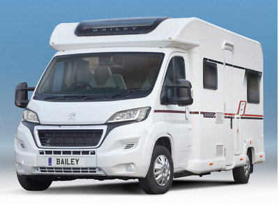 Luxury Motorhome for Hire - 2019 Peugeot Bailey - 6 Berth Camper with Canopy