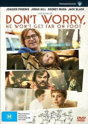 Don't Worry, He Won't Get Far On Foot (DVD, 2019) NEW