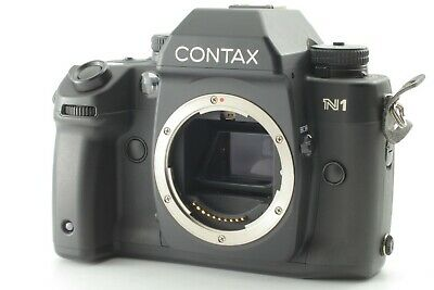 【 Excellent 5 】 Contax N1 SLR Film Camera Body From Japan #89