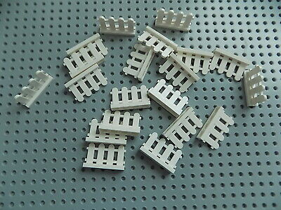 city town garden house farm fences friends Lego Brown Picket Fence qty 10 NEW