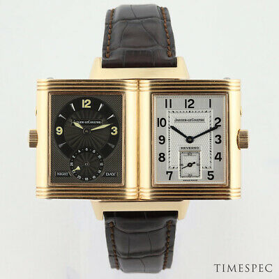 Jaeger-LeCoultre Reverso Grand Taille Duoface 18K Rose Gold