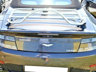 Aston Martin Volante Convertible Luggage Boot/Trunk Rack ; No Clamps = No Damage
