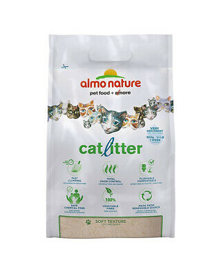 Almo Nature Ecological Catlitter Clumping Biodegradable 4.54kg (Pack of 4)