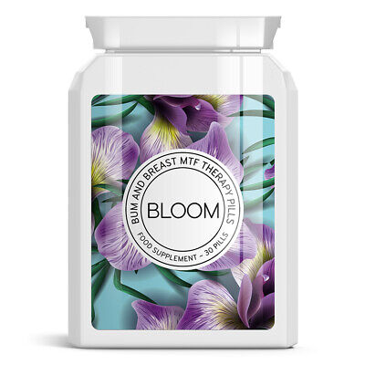 Bloom Bum and Breast MTF Therapy Pills. Grow breasts, MTF transitioning
