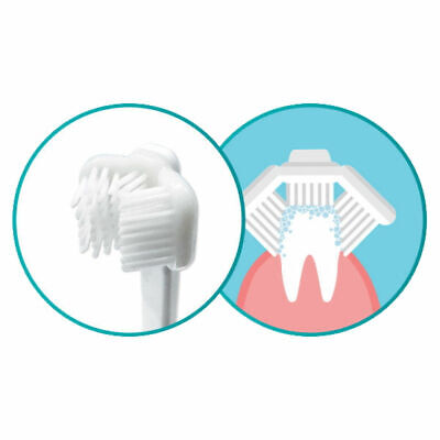 Cleany Teeth Replacment 3 Sided Brush Heads