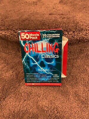 Chilling Classics - 50 Movie Pack (DVD, 2005, 12-Disc Set) Never Watched