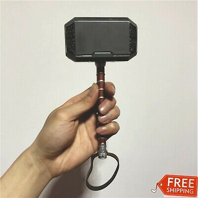 Hammer Thor Avengers Cosplay Metal Mjolnir Prop Resin Base Full Us Stand