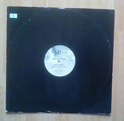 "The DAMNED - 12"" Single - Is It A Dream, 5 track incl Pretty Vacant, EX"