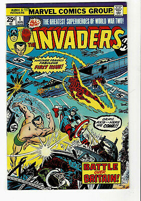 The Invaders #1 (9.0) High Grade Gem WOW!!!
