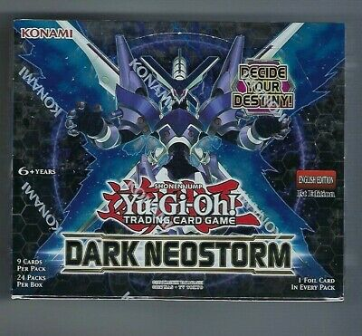 Yugioh Dark Neostorm Booster Box 1st Edition Factory Sealed TCG English