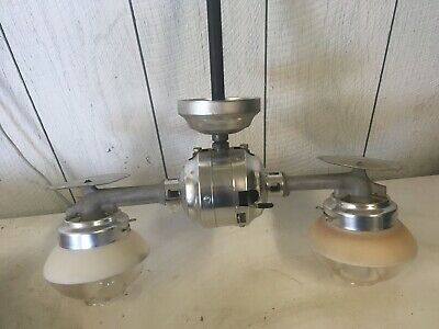 vintage gas light fixture Humphrey mod.n3t andB.P. Products mod. 9 excellent con