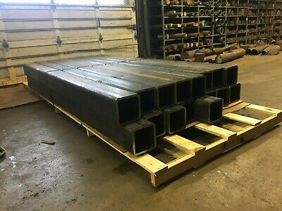 "Steel Square Tube 3/"" x 3/"" x .290/"" x 24/""  Light Rust Surplus"