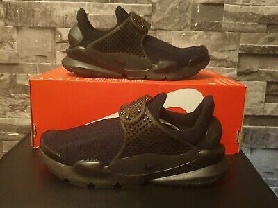 huge discount d1777 dbda6 Nike Sock Dart Trainers All black UK Size 4.5 EUR 37.5 New with Box 819686  001