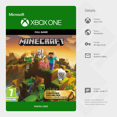 Minecraft Master Collection (Xbox One) - Digital Code [GLOBAL]