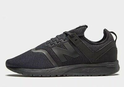 NEW BALANCE 247 Mens Black Sports Shoes Sneakers Cross Trainers Size 7 Runners