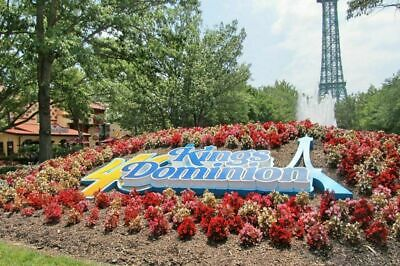 (4) Four Tickets to Kings Dominion / E-Tickets / Low Price