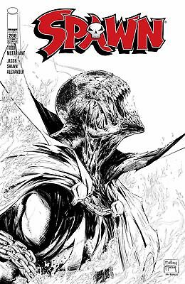 SPAWN #273 COVER B B/&W MCFARLANE VARIANT COVER IMAGE COMIC BOOK NEW 1 MAY 2017
