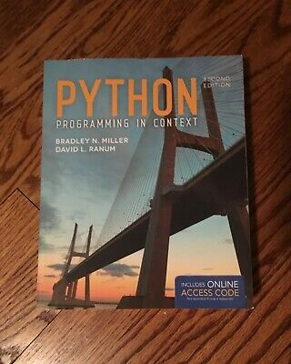Python Programming in Context (Textbook)