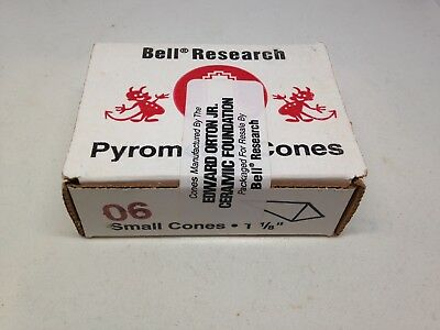 """Bell Research Pyrometric Cones 06 SMALL 1 1/8"""""""
