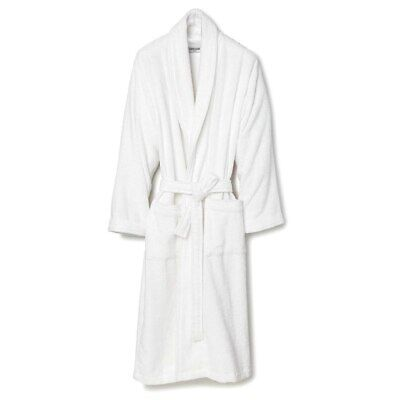 NEW Lusso Cotton Terry Bathrobe Large