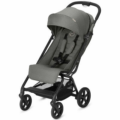 Cybex Eezy S+ Pushchair / Stroller - From Birth Baby to 17kg - Manhattan Grey