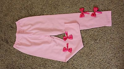 Girls Leggings Pink Color Double Red Rippon Age 5-6 Yr Old Girls Legging