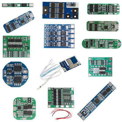 6S/5S/4S/3S/2S/1S BMS PCB Protection Board For Li-ion Lithium 18650 Battery Cell