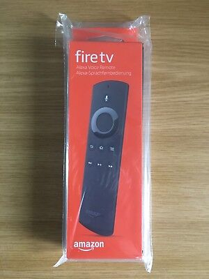 New Genuine Amazon Voice Remote Control for Amazon Fire Stick And TV With Box UK