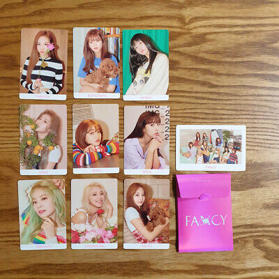 Pre-Order Benefit 10pcs Photocard Set Twice The 7th Mini Album Fancy You Kpop