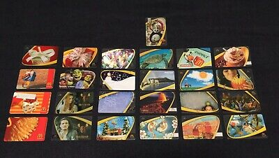 McDonalds Collectible Arch Cards (Hawaii, Movies, Monopoly, Christmas, etc.)