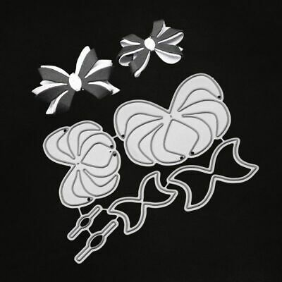 DIY Bowknot Cutting Dies Metal Stencil Scrapbooking Paper Card Embossing Craft