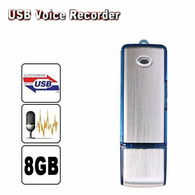 Pro Rechargeable 8GB Digital Audio/Sound/Voice Recorder Dictaphone MP3 Player RT