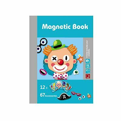 Kids Wooden Puzzle Educational Drawing Board Toy Magnetic Puzzle Drawing Boardia