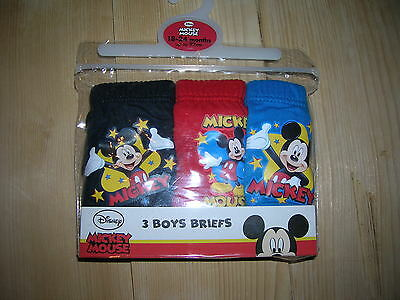 3-Pack Briefs Disney for Boy 1,5-2 years