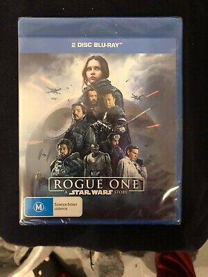 A Rogue One - Star Wars Story (Blu-ray, 2017, 2-Disc Set)