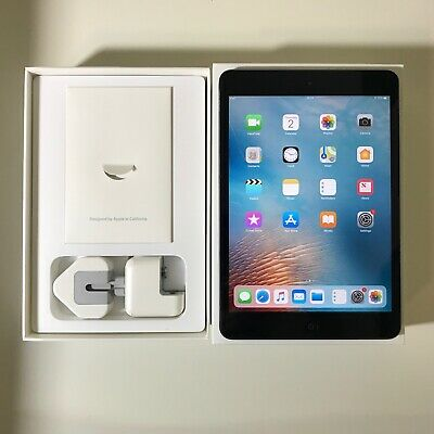 GRADE A Apple iPad Mini 2 128GB, Wi-Fi, 7.9in - Space Grey
