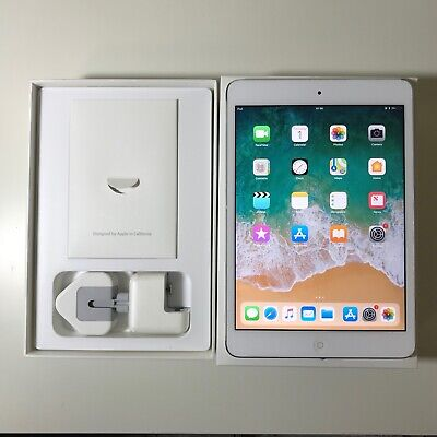 GRADE A  Apple iPad Mini 2 128GB, Wi-Fi, 7.9in - White