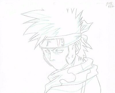 Naruto *Zaku Abumi* Original Production Anime Cel  (13 pieces)