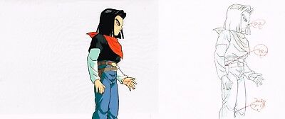 DRAGONBALL Z *C17* Original Production Anime Cel