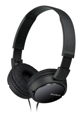 Sony MDR-ZX110/BCE On-Ear Headphones, Black