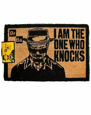 Breaking Bad I Am The One Who Knocks Official Non-Slip Welcome Home Door Mat