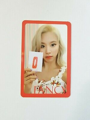 "K-POP TWICE 7th Mini Album ""FANCY YOU"" Official ChaeYoung Photocard"