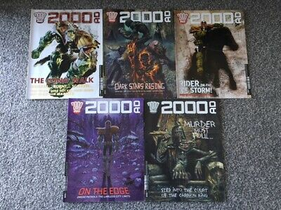 2000AD Progs 1945 1946 1947 1948 1949 - 5 Issues UK Judge Dredd Comic Books