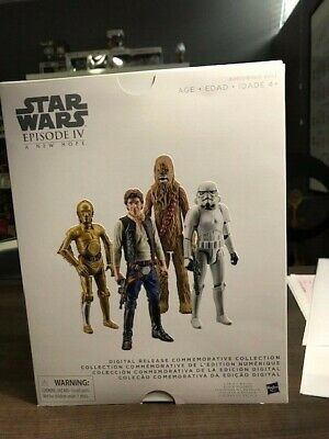 Star Wars Episode 4 Digital Release Commerative Collection MISB!!UNOPENED!!!