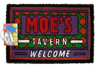 Official The Simpsons Moes Tavern Novelty Non-Slip Welcome Home Door Mat
