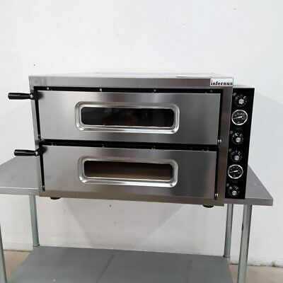 Commercial Pizza Oven Double Stone Bread Inferus Basic44