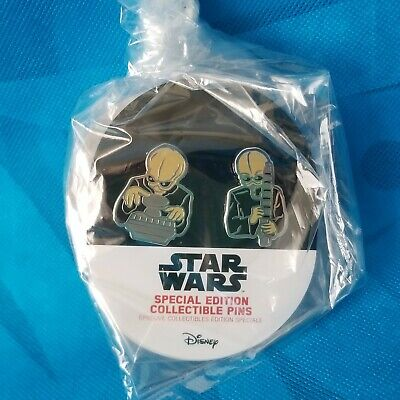 New! Star Wars Celebration 2019 Special Edition Collectible Cantina Band Pin Set